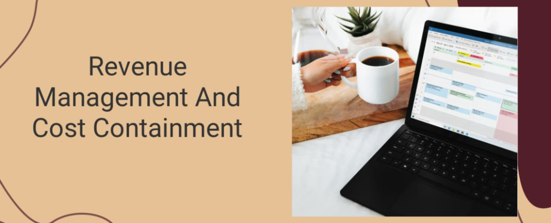 An image of revenue management and cost containment